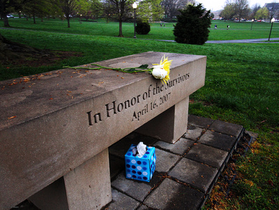 April 16 Memorial. Virginia Tech.