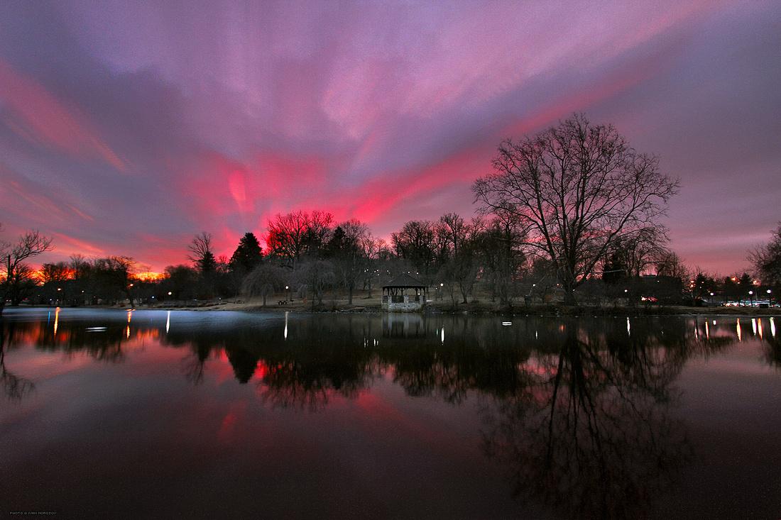 Duck Pond, Sunrise Timelapse. Virginia Tech.