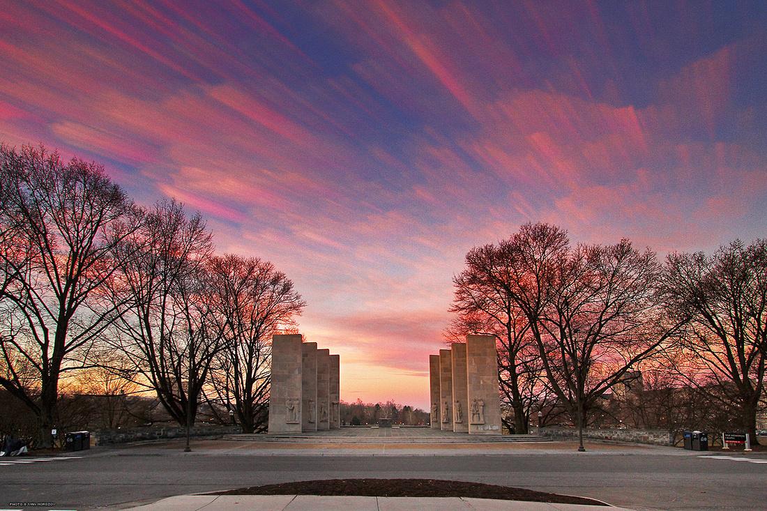 War Memorial. Virginia Tech.
