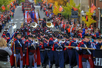 November 03, 2018. Virginia Tech Homecoming Parade.