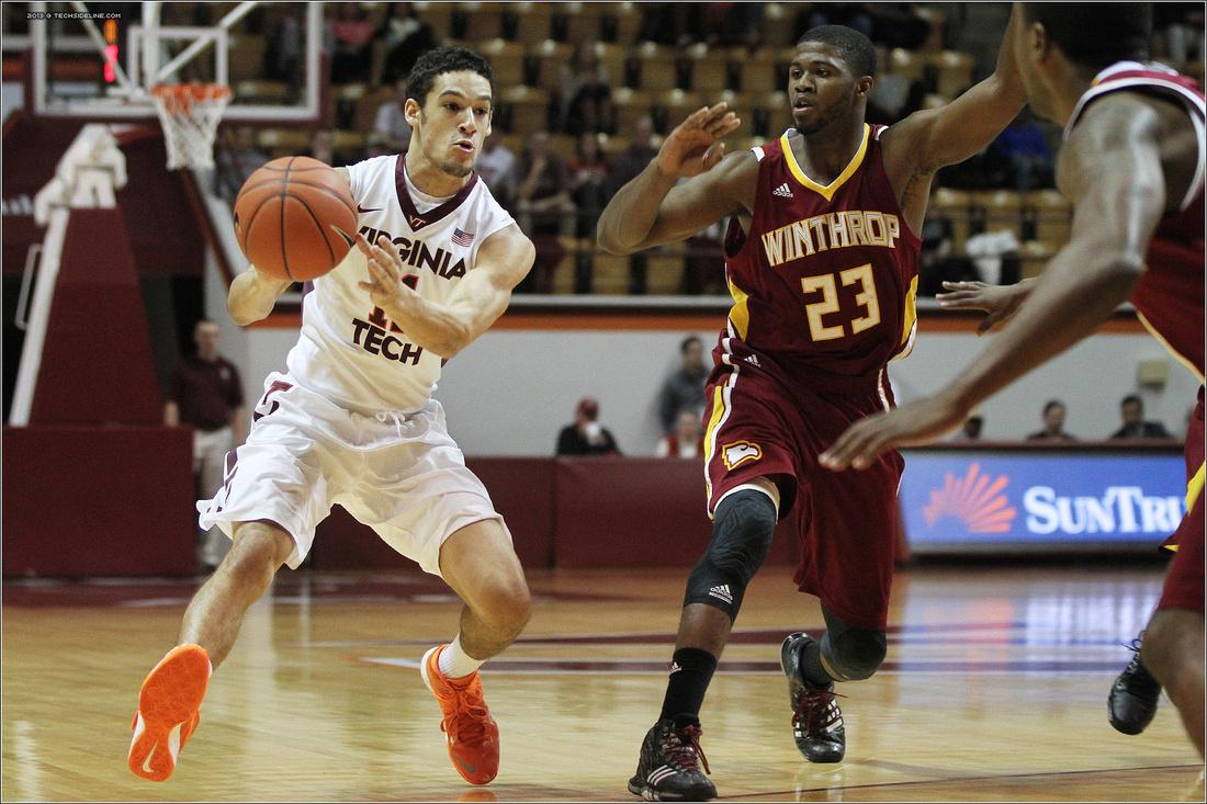 Winthrop at VT | 2013 | Men Basketball