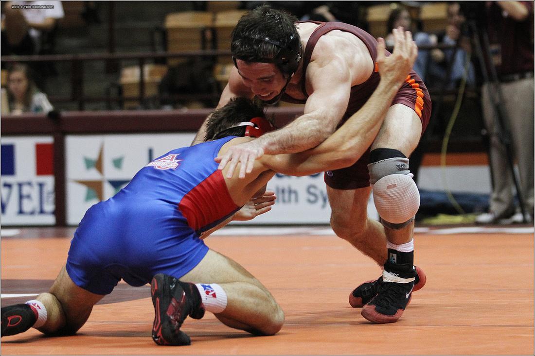 2013.11.17. Wrestling. American at VT