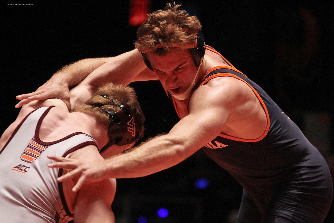2015.02.01. Wrestling. UVA at VT
