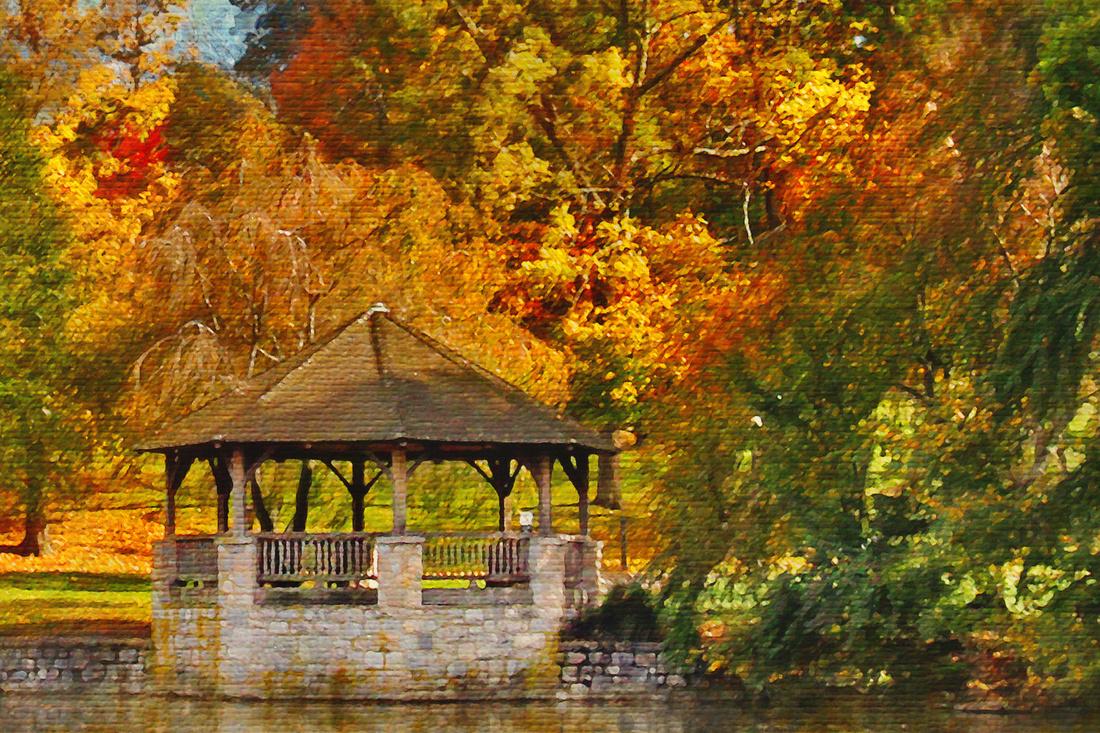 Duck Pond. Virginia Tech.