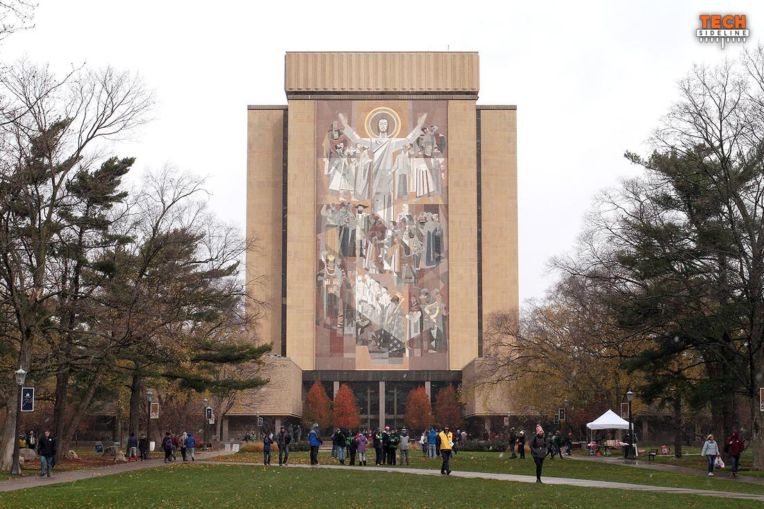 2016.11.19. VT at Notre Dame.