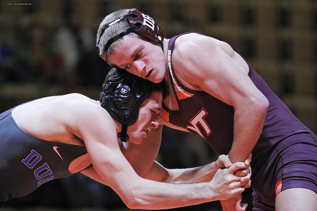 2015.02.14. Wrestling. Duke at VT