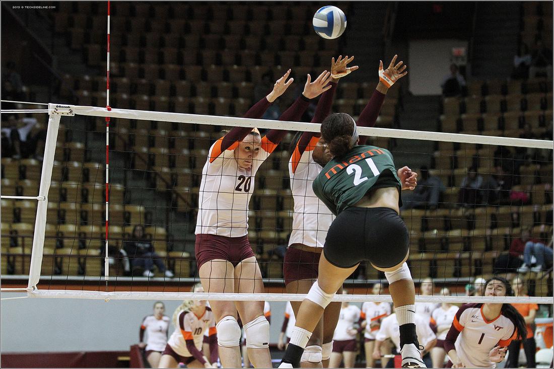 Virginia Tech Volleyball | Miami FL | 2013
