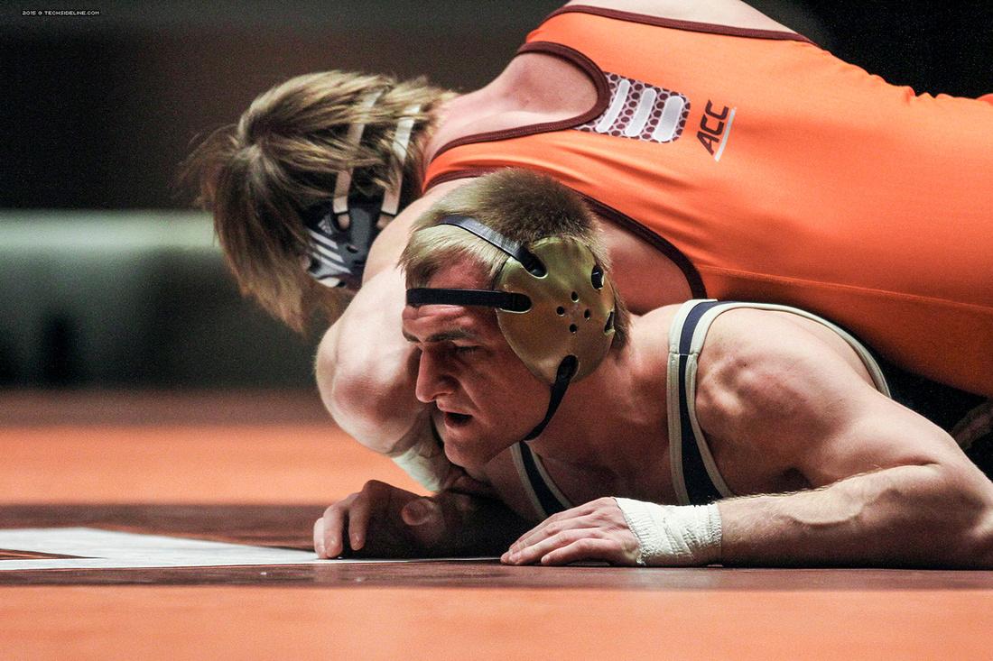 2015.02.06. Wrestling. Pitt at VT