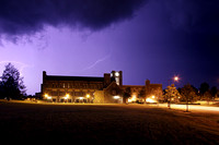 Summer thunderstorm in Blacksburg, VA.