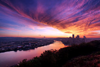 Sunrise in Pittsburgh (PA)