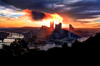 Pittsburgh from Mt. Washington (Pittsburgh, PA)