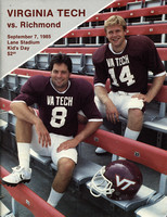 1985.09.07. Richmond at VT.