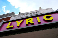 Lyric Theatre on College Avenue.