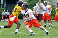 FB. Virginia Tech. Scrimmage