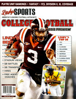2012. Lindy's Sports. vol. 15 (61).