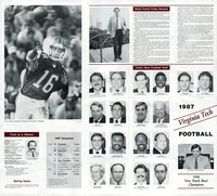 1987.04.00. Spring Game at VT. Outlook.