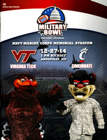 2014.12.27. Military Bowl. Game Program.