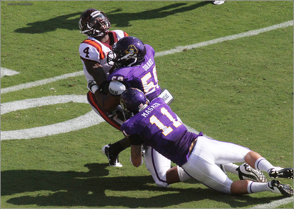 2011.09.10. Virginia Tech at East Carolina