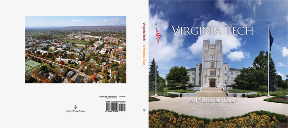 Virginia Tech: A Pictorial Tour. Front and Back covers.