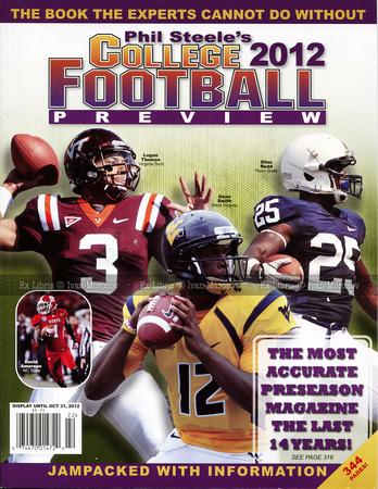 Ivan Morozov | Preseason Magazines | 2012  Phil Steele's  vol  18