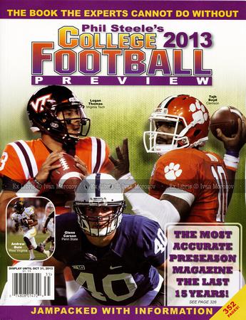 Ivan Morozov | Preseason Magazines | 2013  Phil Steele's  vol  19
