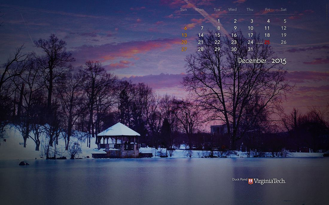 Ivan Morozov Calendar Wallpaper December 2015