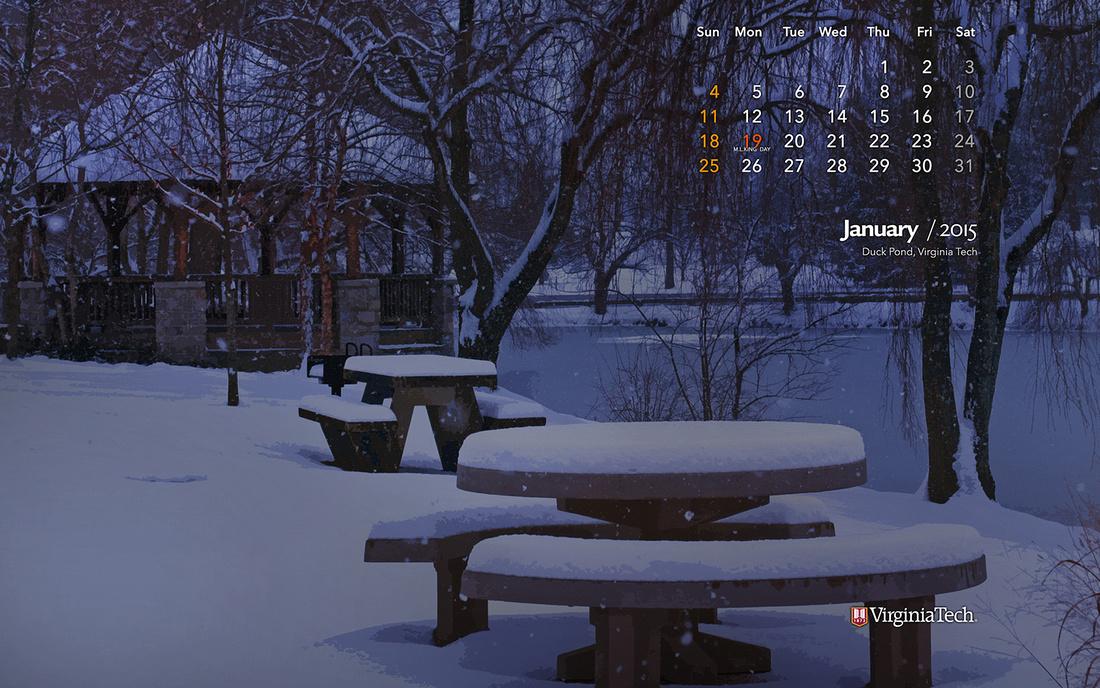 Ivan Morozov Calendar Wallpaper January 2015