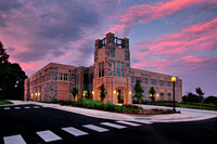Visitor and Undergraduate Admissions Center, Virginia Tech.
