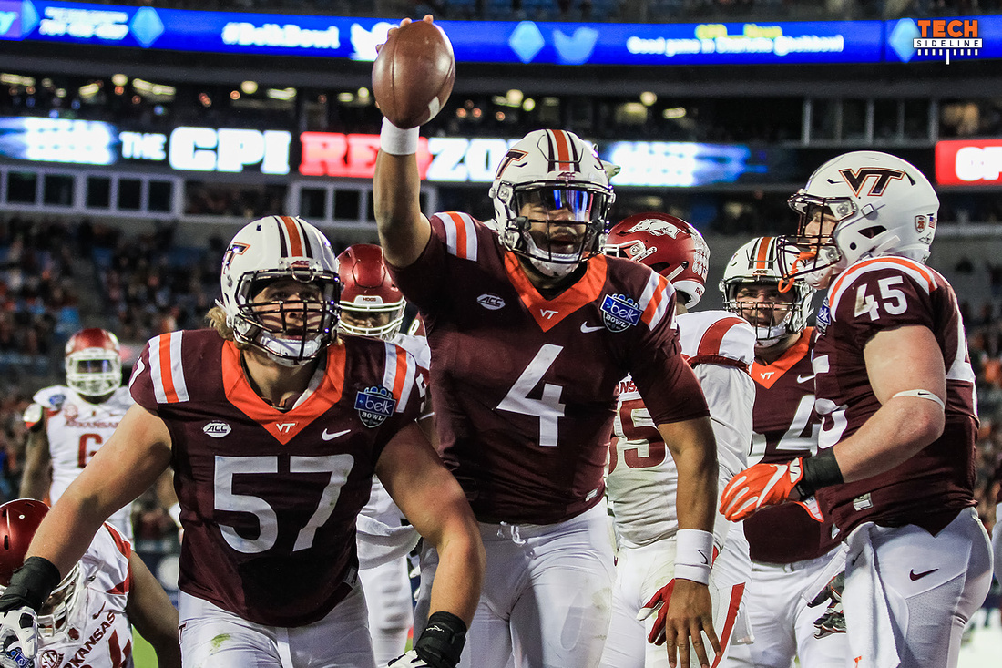 2016.12.29. Belk Bowl. VT vs Arkansas.