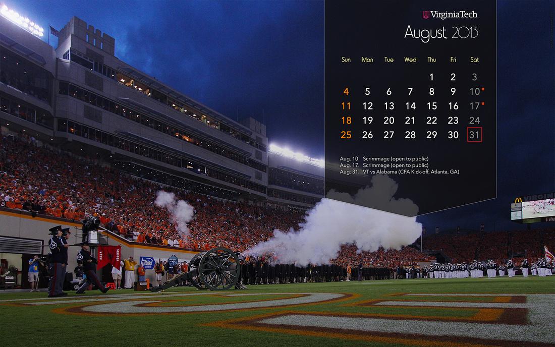 virginia tech football wallpaper Photo