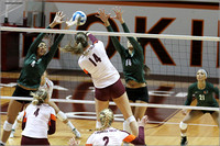 2013.11.08. Miami FL at VT. Volleyball.