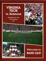 1984.09.22. Richmond at VT.