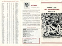 1983.04.00. Spring Game at VT. Outlook.