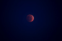 2014.10.08. Blood Moon at Selenelion.