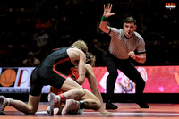 2017.02.19. Wrestling. Nebraska at VT