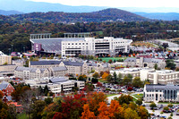 Aerial View of Virginia Tech Main Campus.