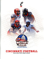 2014.12.27. Military Bowl. Media Guide (Cincinnati).