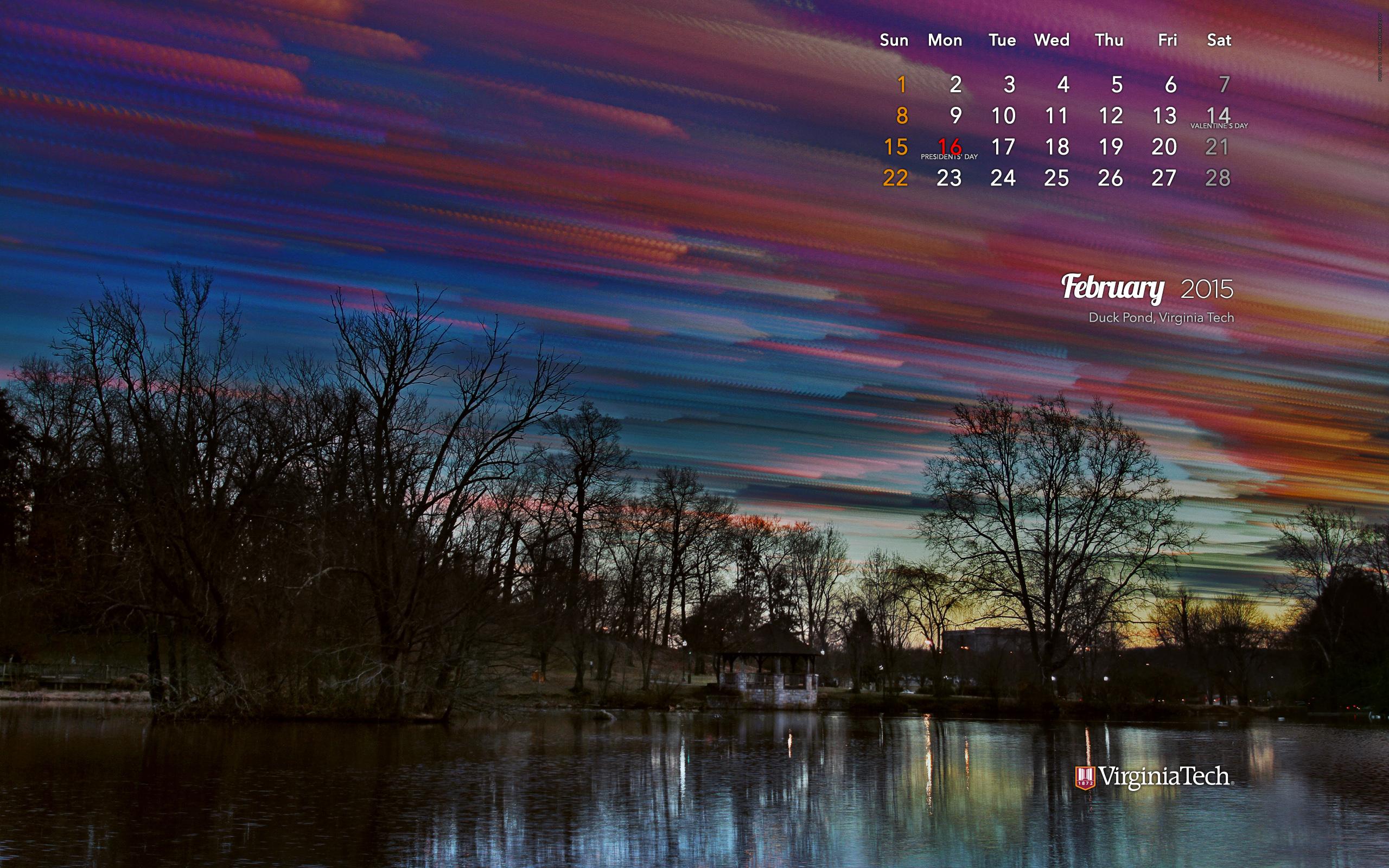 Virginia Tech Calendar.Ivan Morozov Calendar Wallpaper February 2015