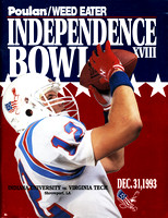 1993. Independence Bowl.