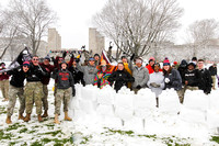 Snowball Fight, 2018. Virginia Tech.